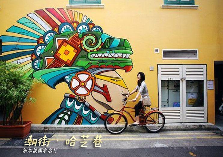 色彩购物潮街——美拍新加坡哈芝巷